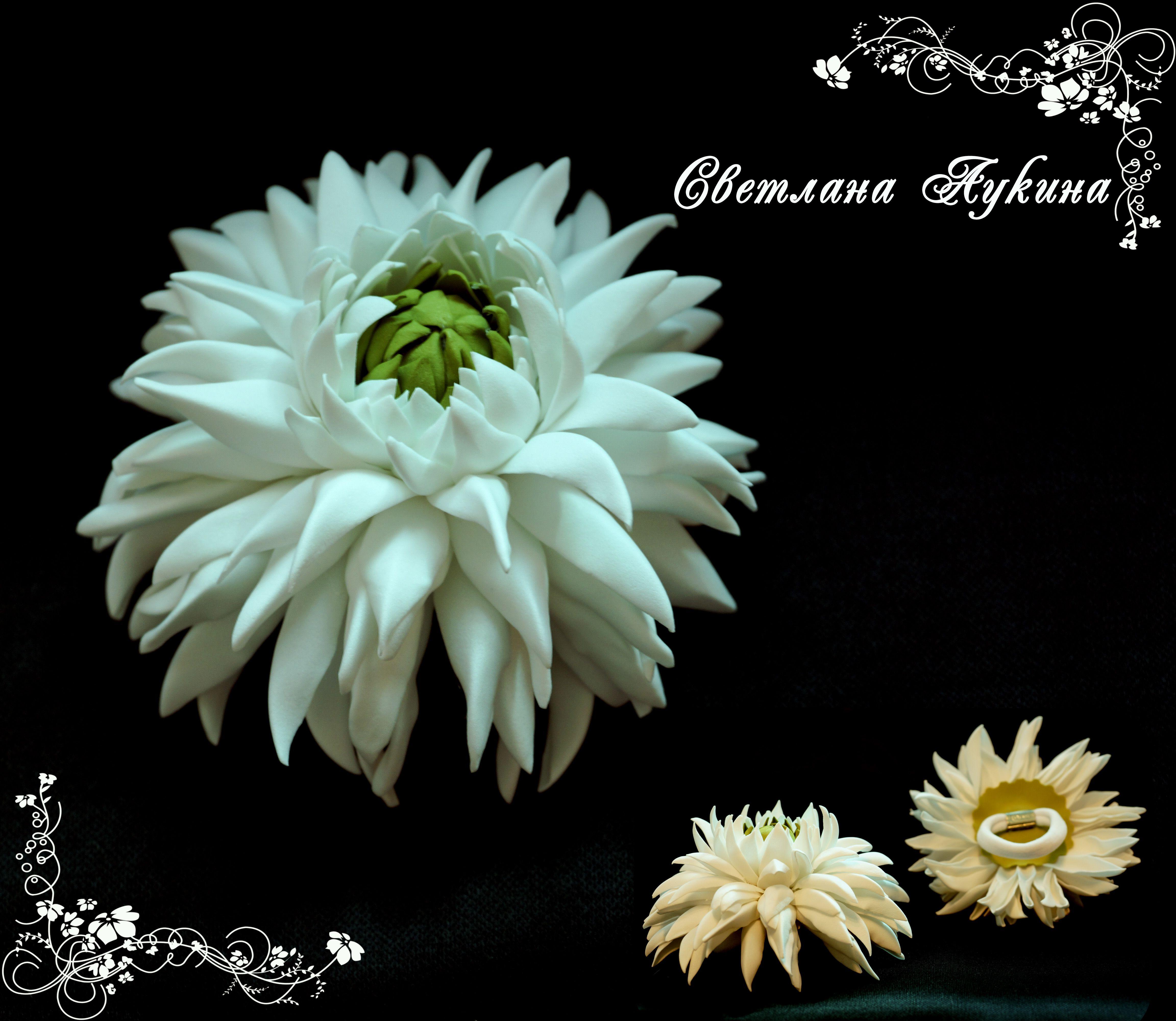 hair accessories tie hairstyle flower