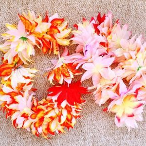 lei hawaiian make flower holidays paper