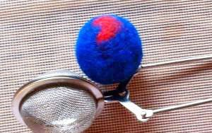 balls felting dryer wool make
