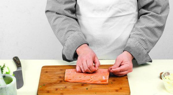 cookery salmon cook ingredients steps