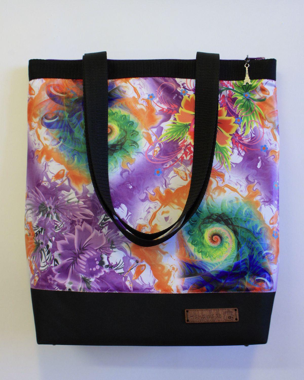 handmade travel flowers bag spring