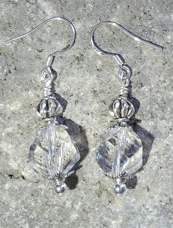 giftsforher bridalgift bohostyle vintage mothersday sterlingsilver handmade dangleearrings glassjewelry