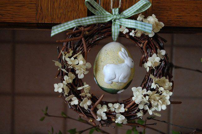 holidays wreath decoupage easter make