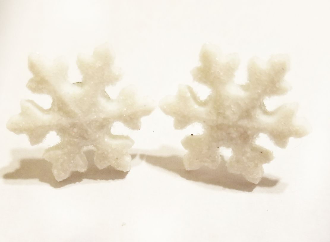giftsforher kriszcreations snowflakes earrings jewelry winter