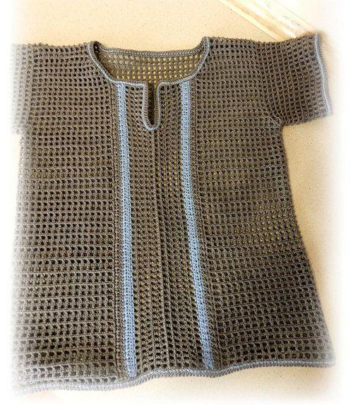 scheme shirt textile crochet goods