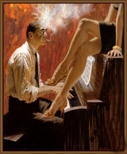 art painting erotic home modern