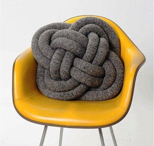 abbihome diypillow homemade diyknot cushionknot