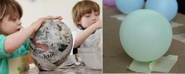 toy crafts balloon hot air paper make