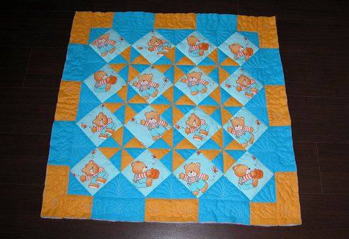 make baby materials fabric blanket