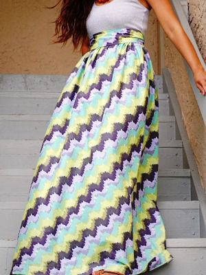maxi make skirt fabric clothing