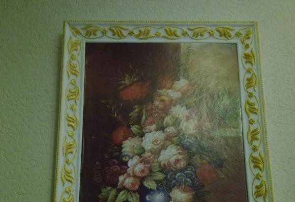 make vintage picture frames homemade