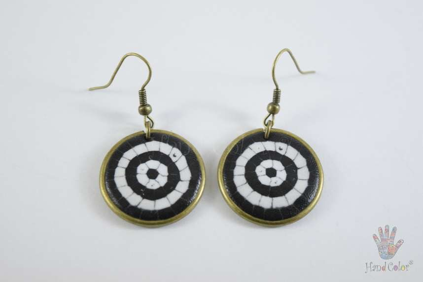 tradition accessories fashion cobblestone portuguese round original handcraft handmade jewellery beauty jewelry polymer clay bijouterie