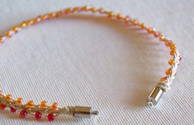 hemp costume jewelry beads make bracelets