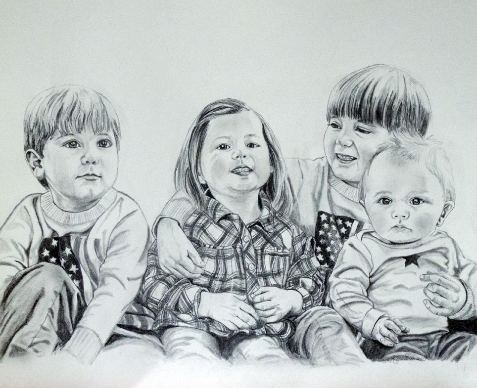 customdrawing portrait familyportrait