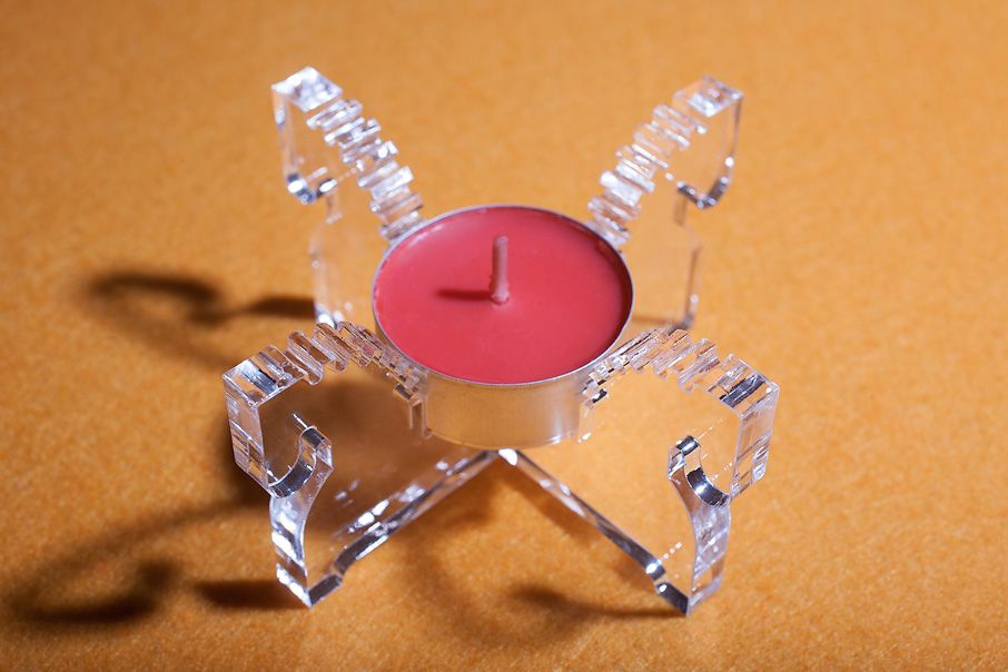 horse souvenir candlestick transparent