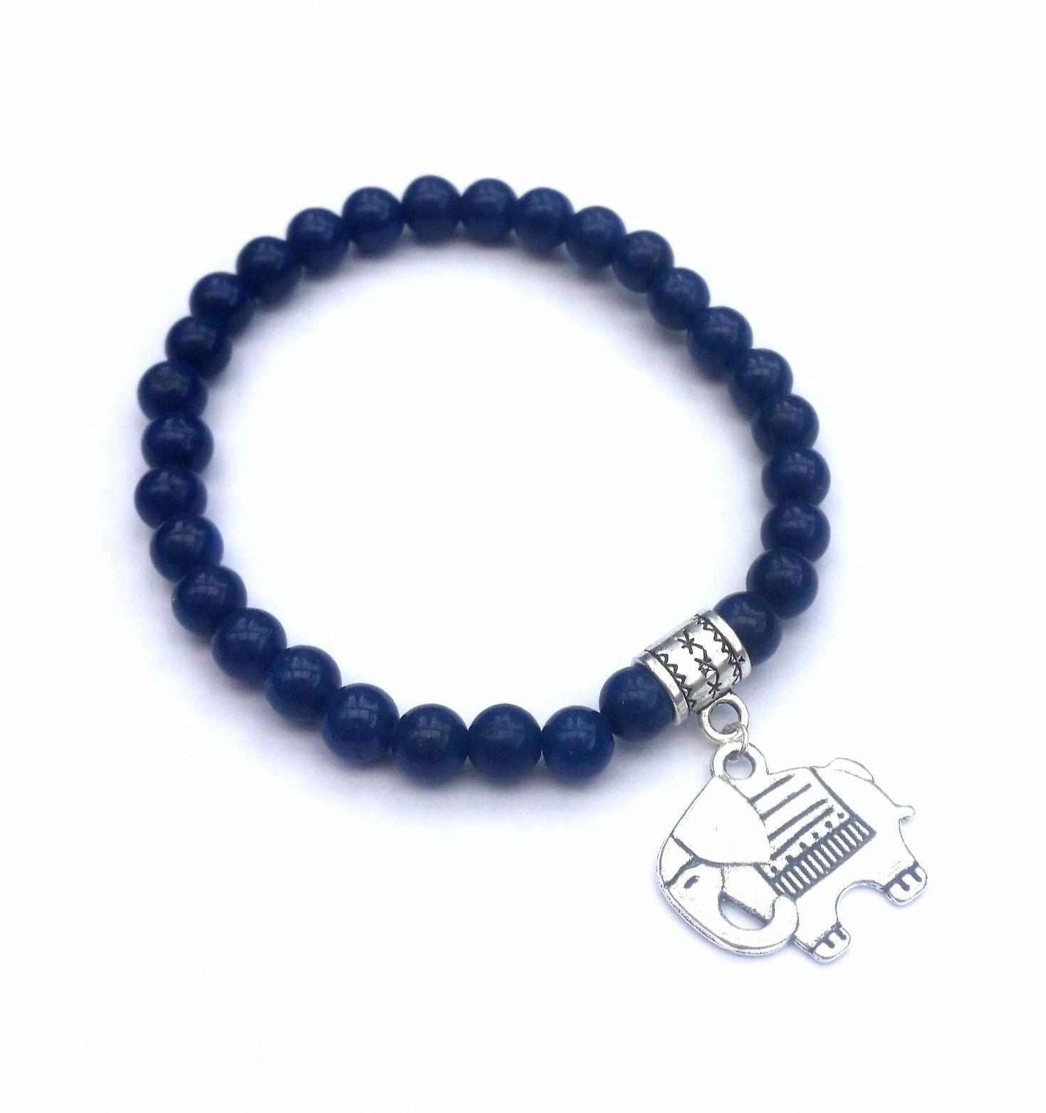 elephant bracelet costume jewelry jewellery blue