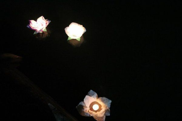 homemade floating unusual lanterns make flower