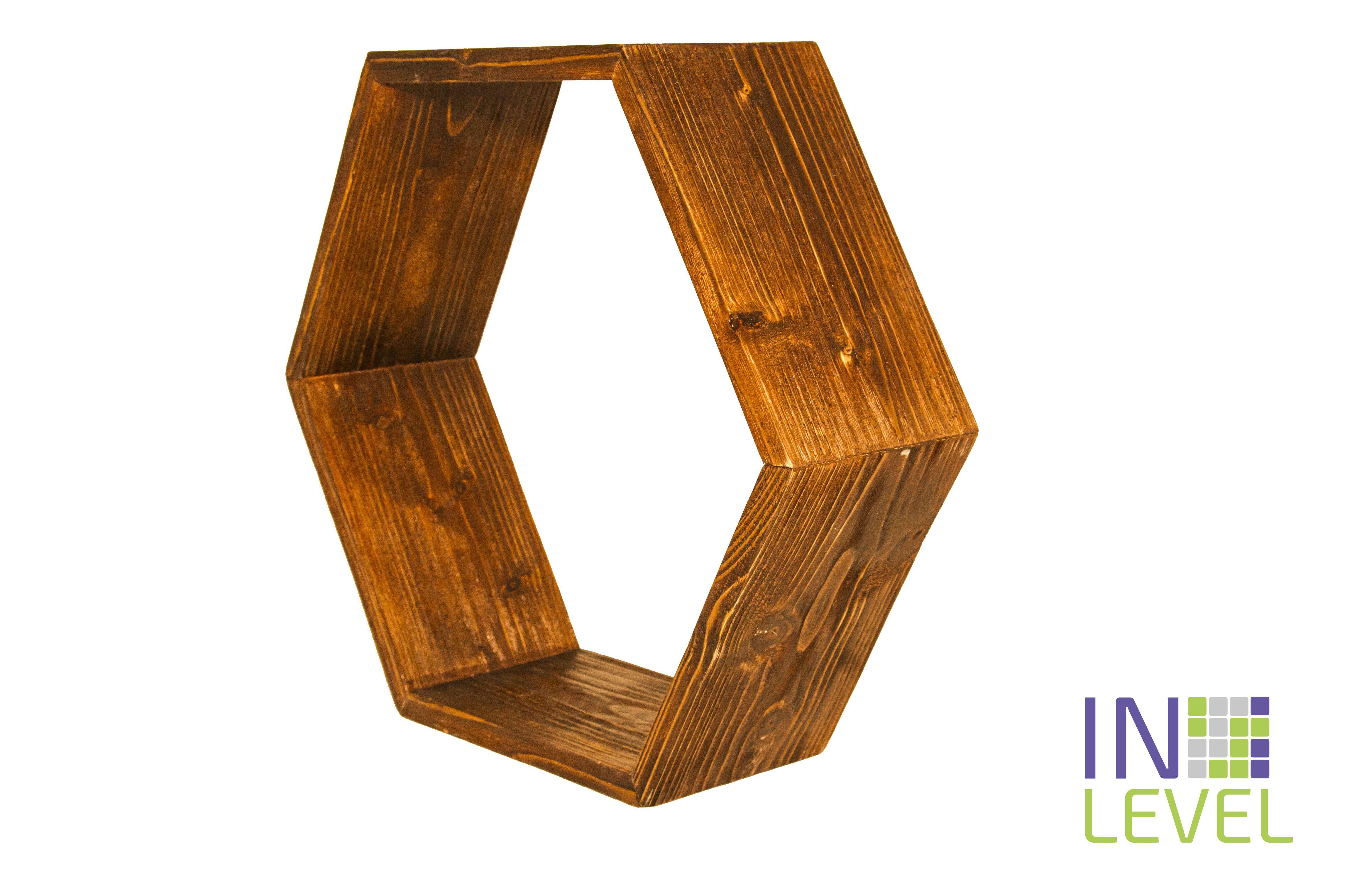 pine wood interior shelf
