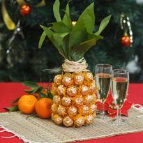 gift chocolates champagne pineapple make