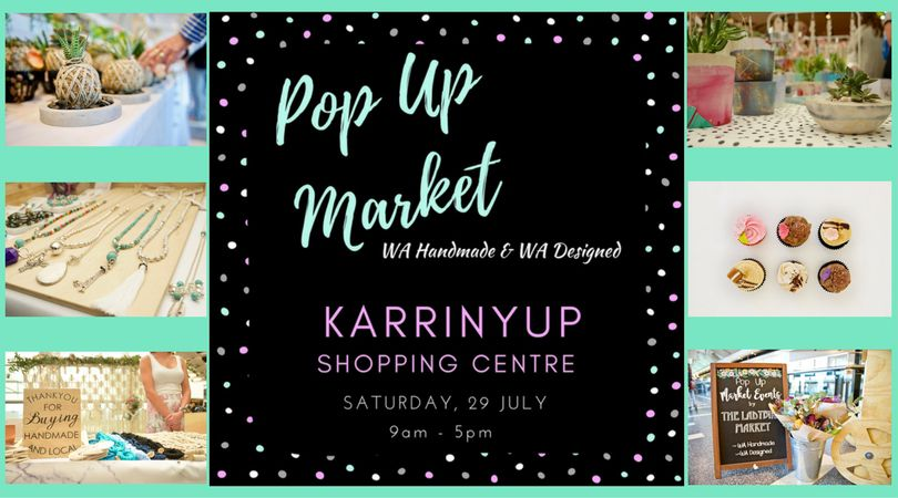 handmade market popup