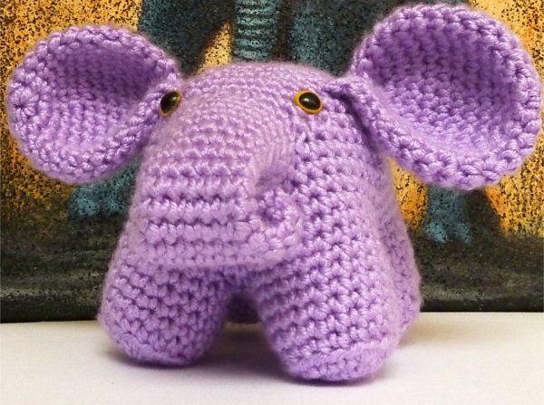 goods textile amigurumi patterns elephant crochet