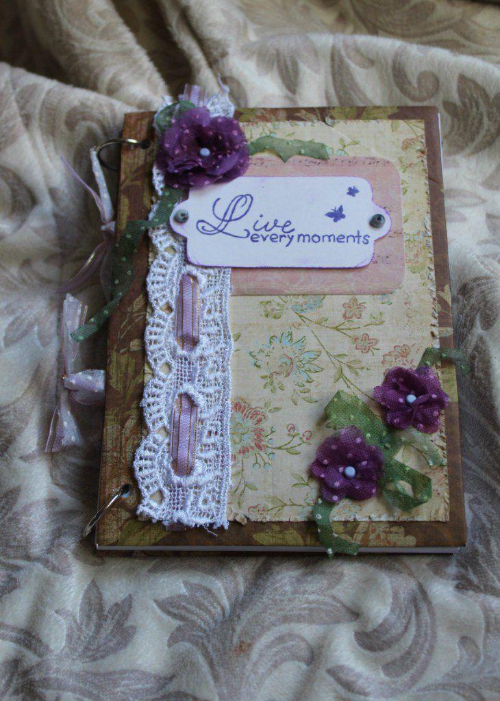 paper girl notebook friend