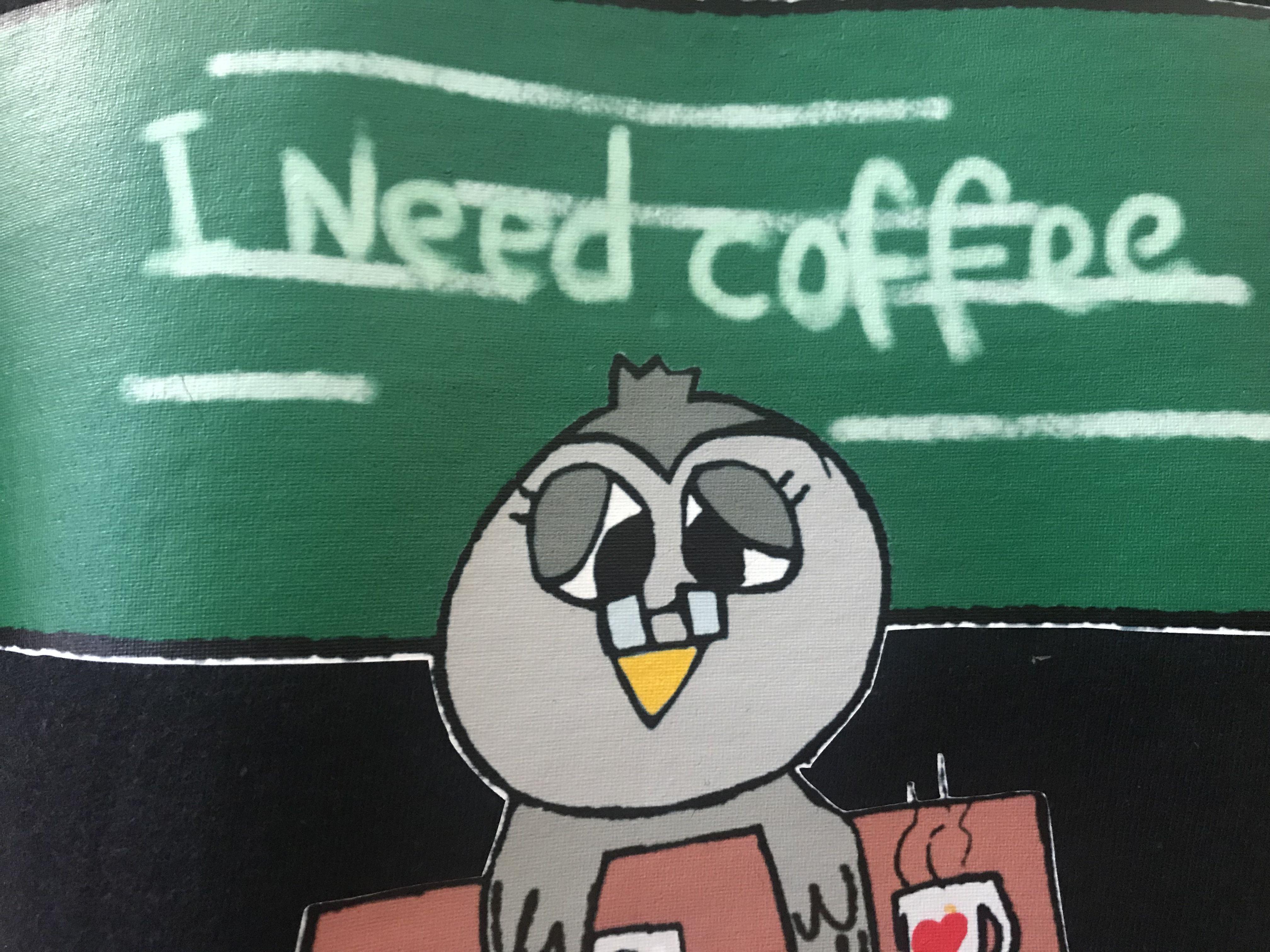 backtoschool teacher school coffee owlteacher tired