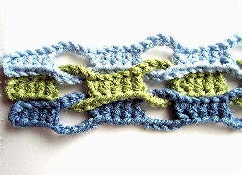 technique textile crochet stitches interesting goods