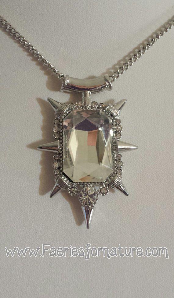 pendant time necklace jewelry charm fairytale good witch necklaces glinda one upon wizard myth legend zelina