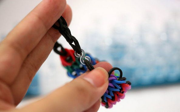 How To Make A Waterfall Rainbow Loom Bracelet With Your Fingers