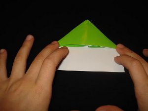 crafts frog folding origami paper