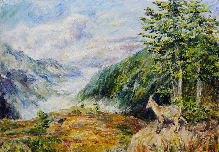 art painting landscape nature oils