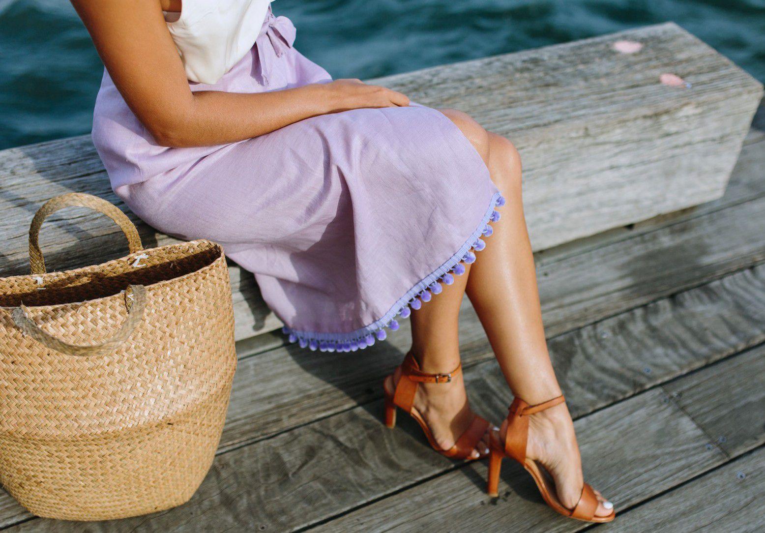 skirt pompom sewing diy outfir summer design cool