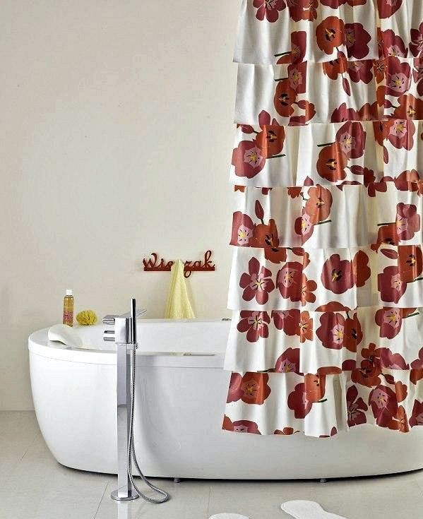 handmade make decoration curtain shower