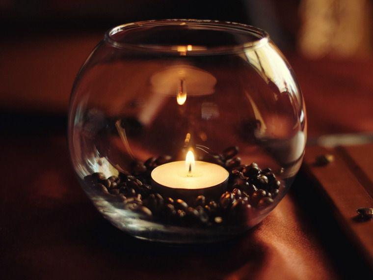 creatieidea coffeecandle candle coziness decor coffeebeans gift interior diy coffee idea homemade light cosy handmade fire design
