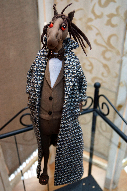 luxury designers unique puppet present handmade horse