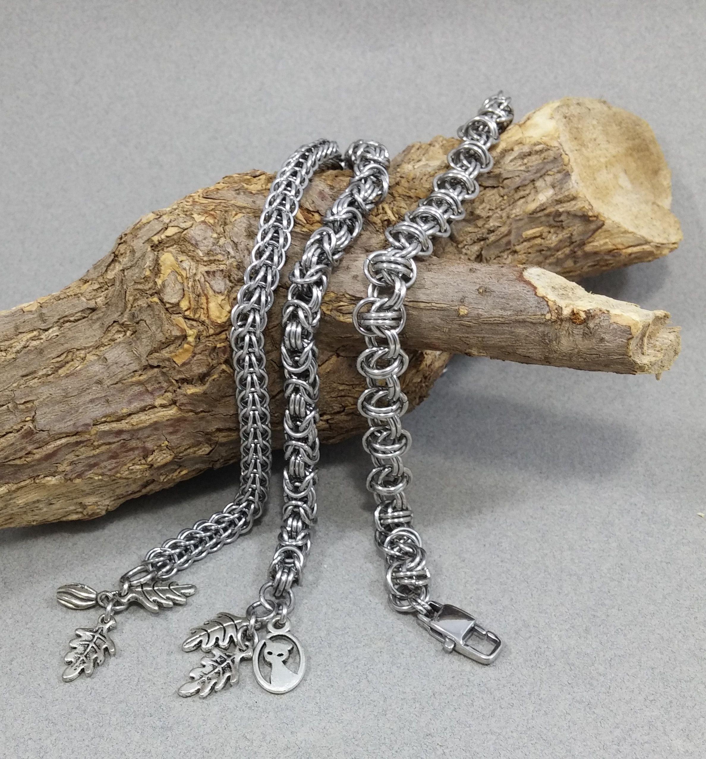 jewelry handmade bracelet metal goftforher steeljewelry unisexbracelet unisex gothic hypoallergenic