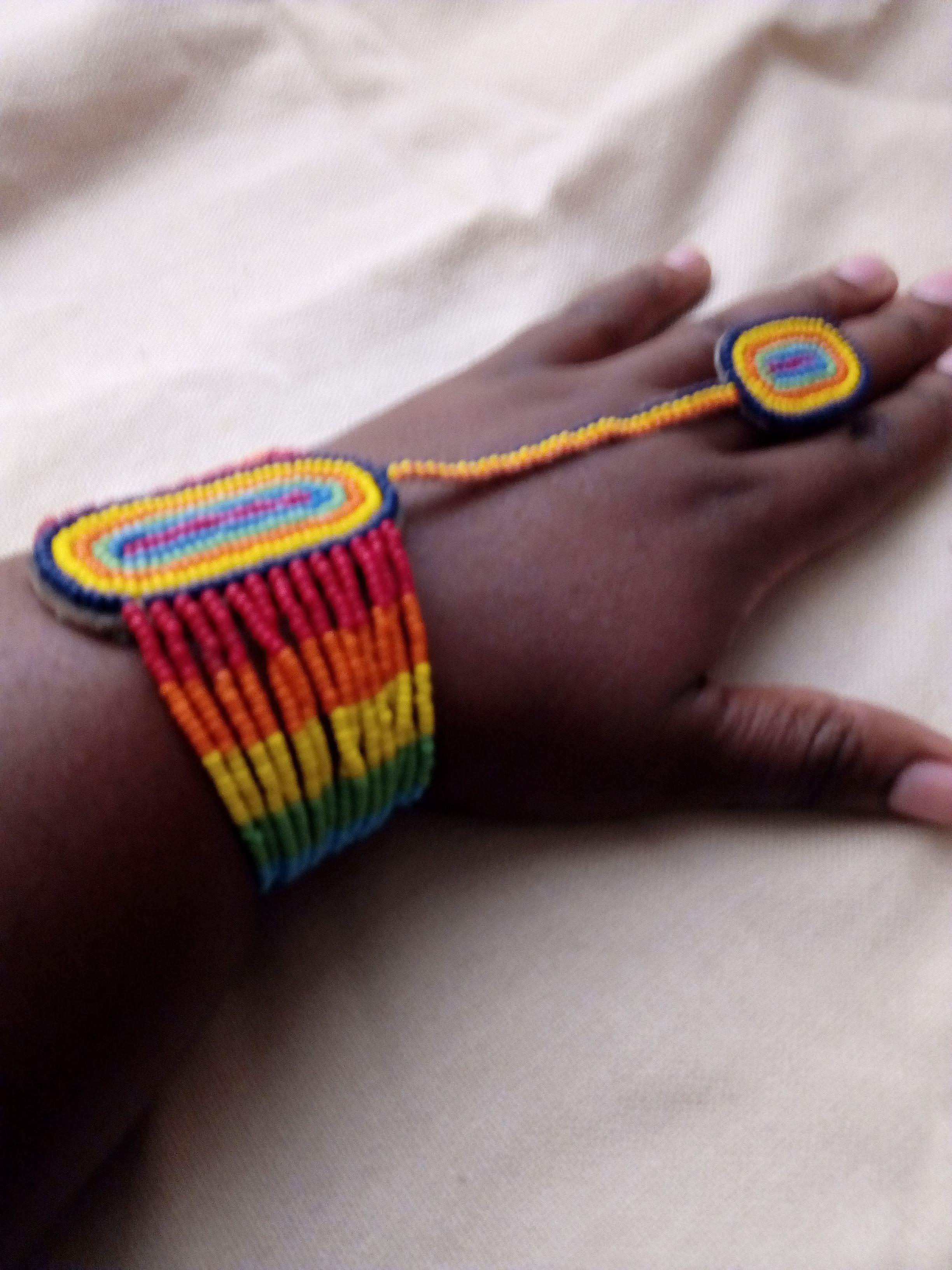 rings bracelets african