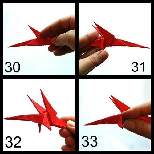 dragon crafts origami paper made