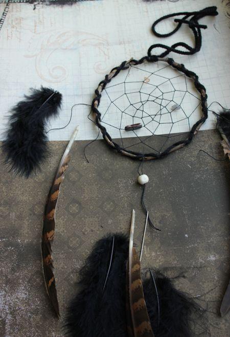 how to make a dreamcatcher hoop