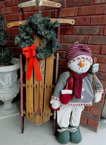 bows outdoor flowerpots decorations christmas
