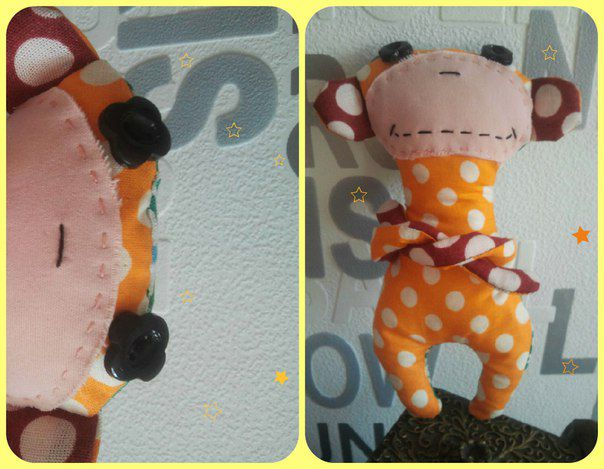toy talisman textile kids monkey