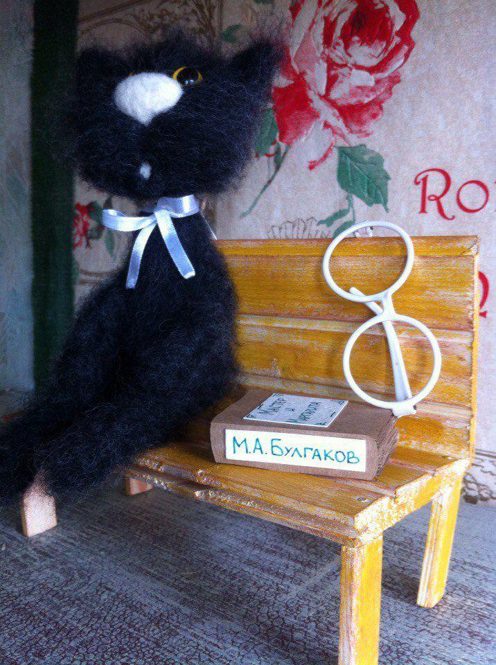 gift cat cute milling black