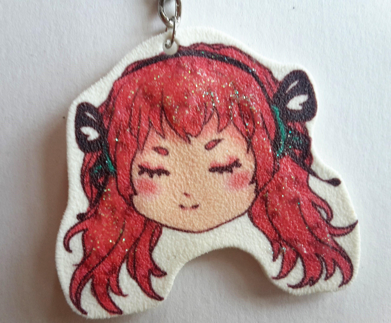 artist cute keychains vocaloid luka miku adorable hatsune handmade charms art