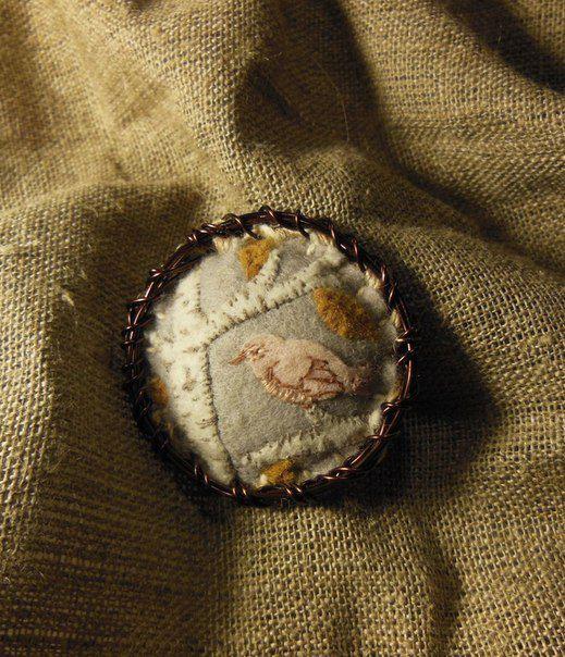 felt broach accessories pin textile