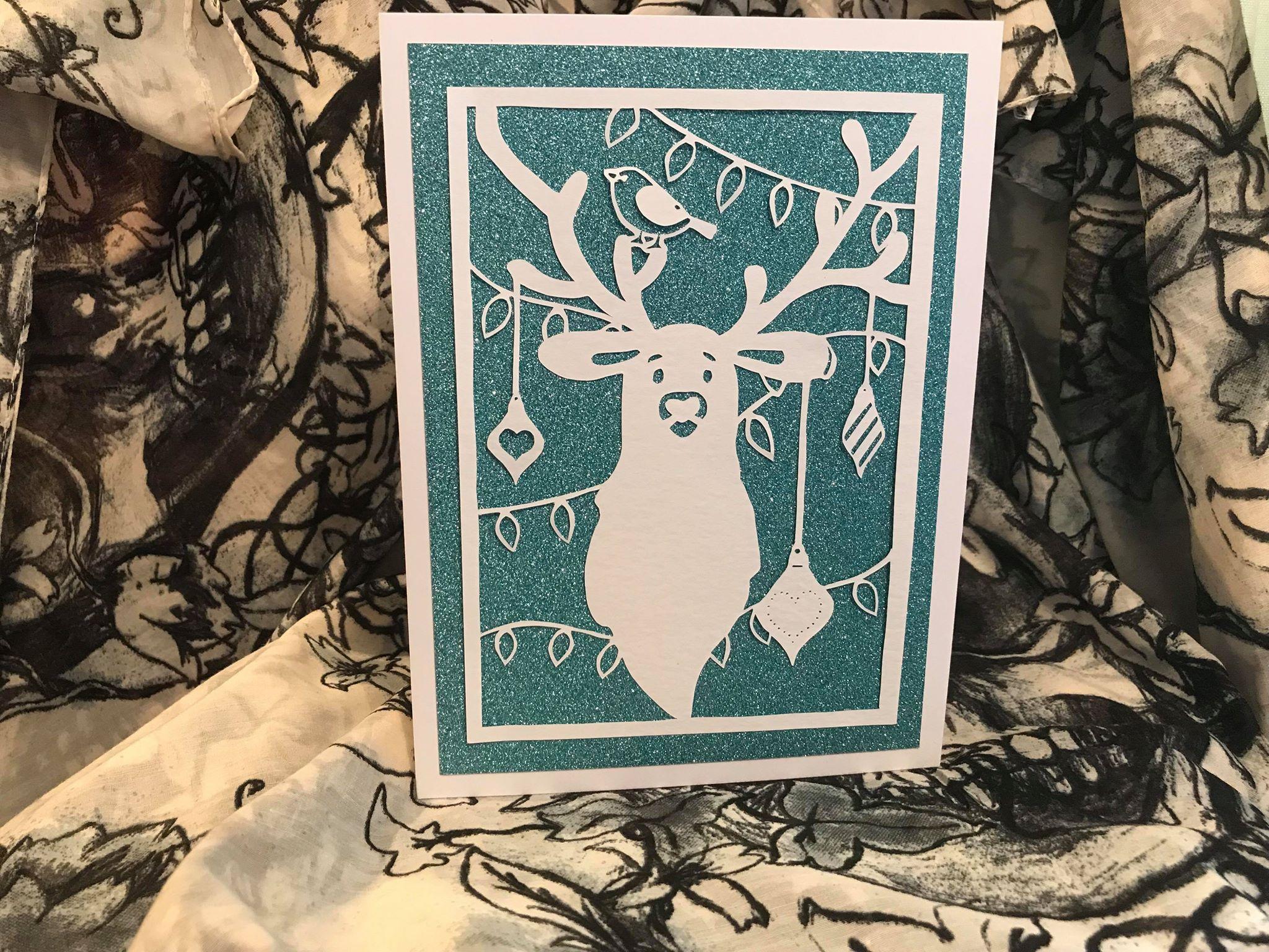 robin card quirkycraftsuk polar mistletoe and greetings xmas deer bird reindeer baubles merry christmas qcuk bear making