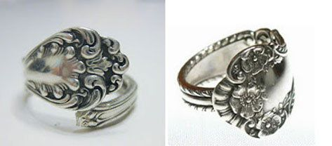spoon costume jewelry ring make