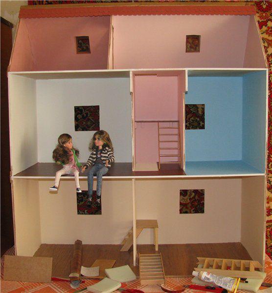 children barbie doll instruction house