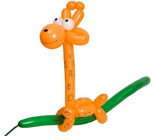 toy animals giraffe balloon make