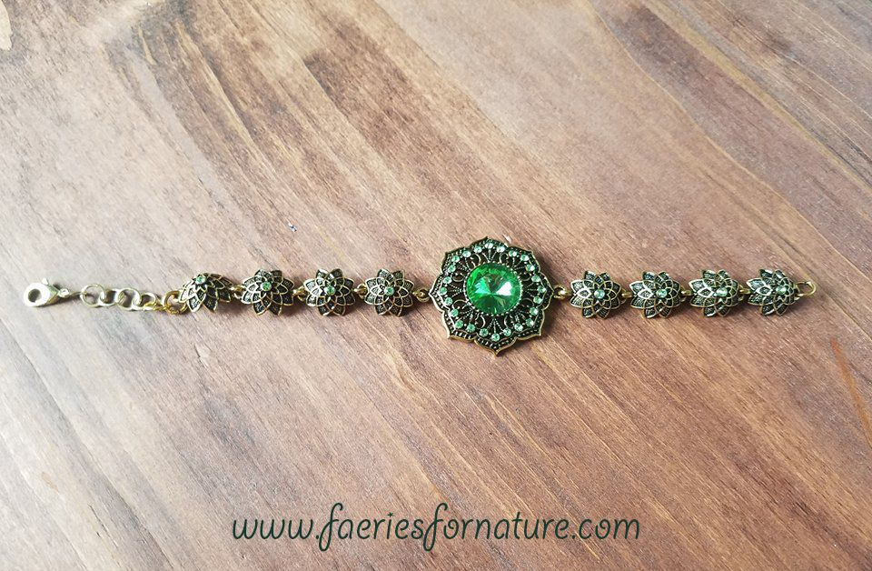 costume city for cosplay time emerald witch her zelena wicked ouat once upon zelina green bracelet gift jewelry